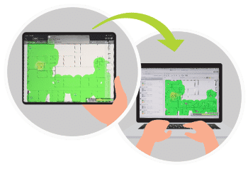Ekahau Survey pour Ipad - Tenedis
